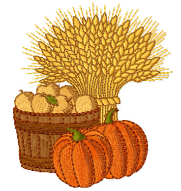 Harvest Free Embroidery Designs