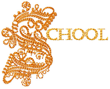 School Free Embroidery Design